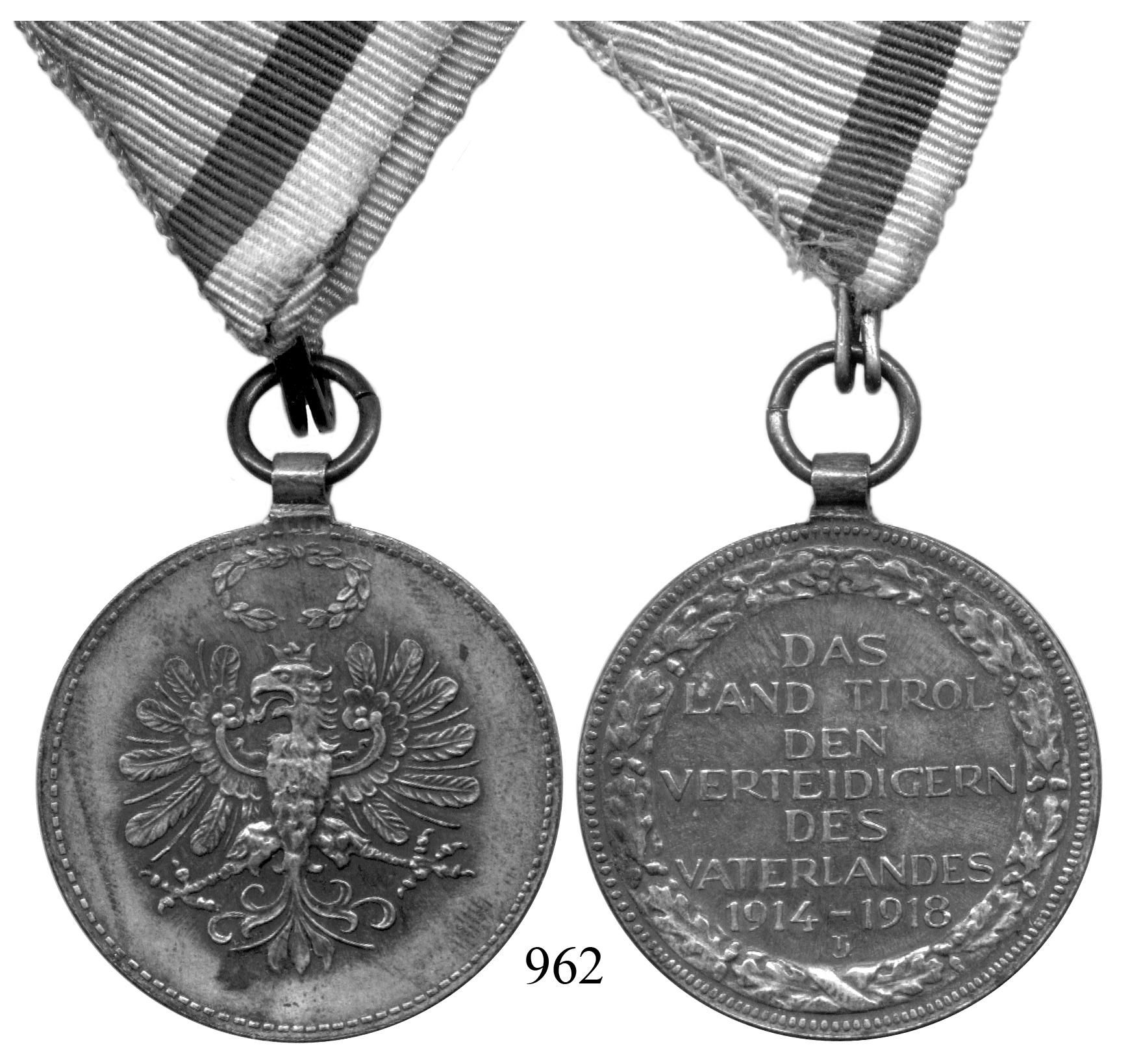 Ru pamětní med za válku 1914 1918 maďarský znak s korunou v
